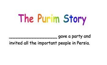 Purim Megillah Without Names