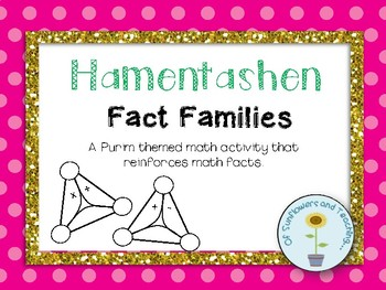 Purim Themed Fact Families