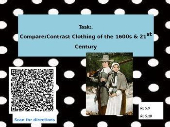 Puritan Clothing vs Today QR Code Comparison