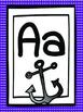 Purple Alphabet Posters