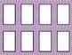 Purple Chevron Classroom Labels