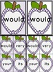 Purple Dot Apple Dolch Second Grade Sight Word Flashcards
