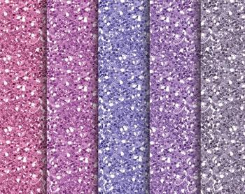 Purple Glitter Texture, Digital Paper, Digital Design, Pur