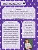 Purple Polkadot Meet The Teacher Template **Editable**