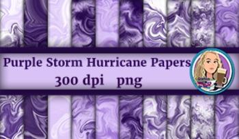 Purple Storm Hurricane Papers