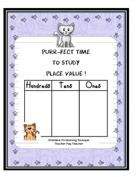 Purr-fect Time to Study Place Value