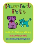 Purrfect Pets: Centers for Math and Literacy