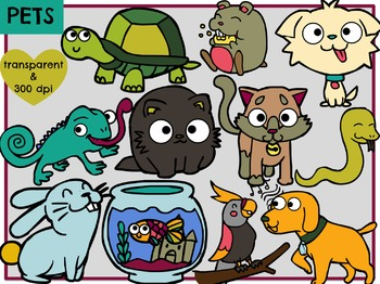 Pets (Digital Clip Art)