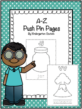 Push Pin Pictures A-Z