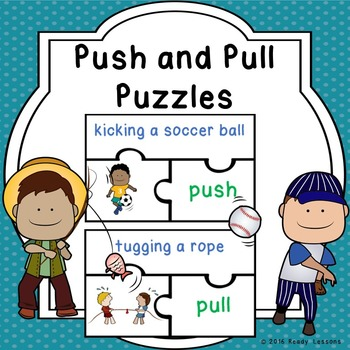 Forces Push and Pull Game Puzzles