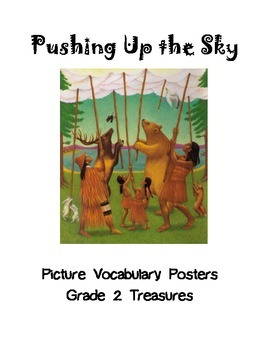 Pushing Up the Sky Picture Vocabulary Posters Grade 2 Treasures