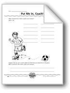 Put Me In, Coach! (Persuasive Writing)