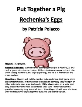 Put Together a Pig Rechenka's Eggs by Patricia Polacco