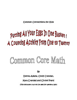 Putting All Your Eggs in One Basket: Counting 1 to 20