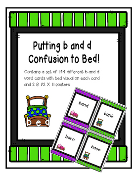 Putting b and d Confusion to Bed!