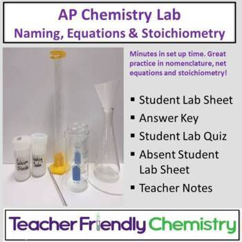 Chem Lab: Putting it all Together: AP Review Naming, Equat