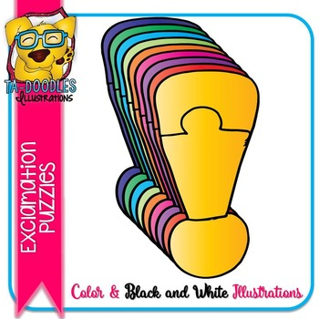 Puzzle Clipart :  Exclamation Mark Puzzle Commercial Use