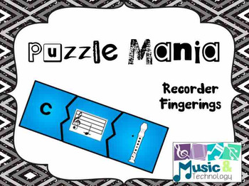 Puzzle Mania!- Recorder Fingering Review