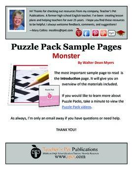 Puzzle Pack Sampler Monster