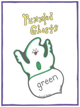 Color Word Recognition Puzzled Ghosts