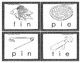 Color Your Own Rhyming Word Family Three Letter Picture Wo