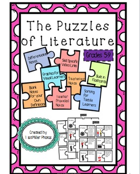 Puzzles of Literature Differentiated/Interactive Notes Ful