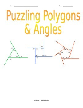 Puzzling Polygons & Angles