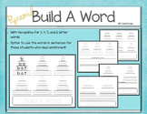 Pyramid Build A Word Writing Phonics Literacy Practice