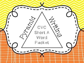 Pyramid Writing - CVC Short A Words