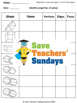 Pyramid worksheets