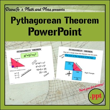 Pythagorean Theorem PowerPoint