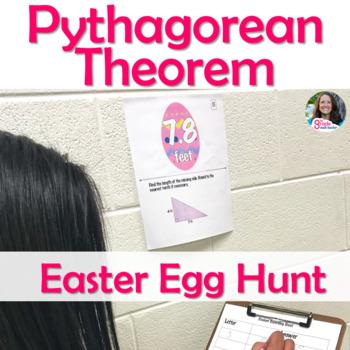 Pythagorean Theorem Easter Egg Hunt Activity