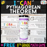 8th Grade Pythagorean Theorem Game - 8th Grade Math Game FREE