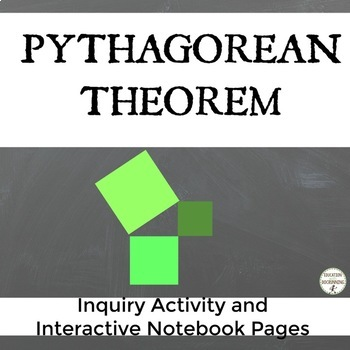 Pythagorean Theorem Inquiry Activity and Interactive Noteb