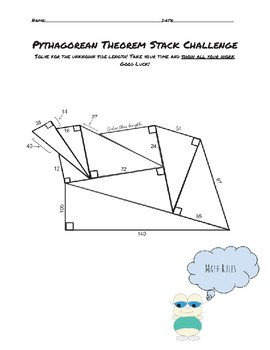 Pythagorean Theorem Pile Up