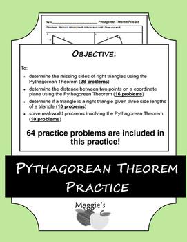 Pythagorean Theorem Practice