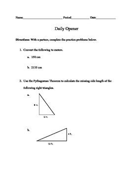 Pythagorean Theorem Project