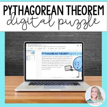 Pythagorean Theorem Puzzle - GOOGLE EDITION