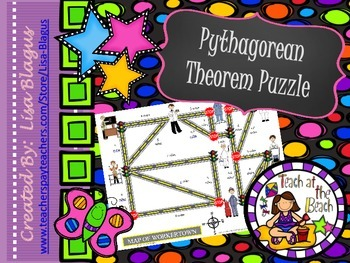 Pythagorean Theorem Map Activity