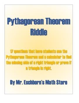Pythagorean Theorem Riddle