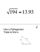 Pythagorean Theorem Scavenger Hunt