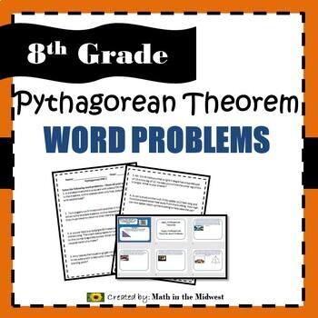 8.G.B.7 Pythagorean Theorem Word Problems