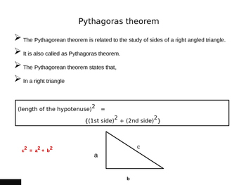 Pythagorean Theorem and It's Properties Explained (handout