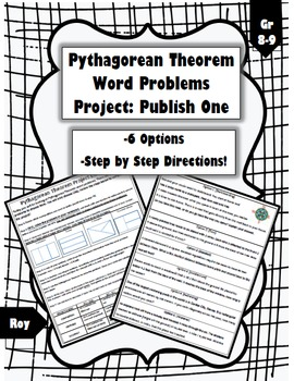 Pythagorean Word Problems Project