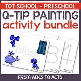 Q-Tip Painting Activity Bundle