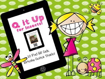Q it Up for Insects! {10 QR Code Listening Center Books}