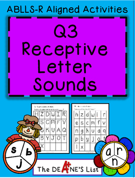 ABLLS-R ALIGNED ACTIVITIES Q3 Receptive Letter Sounds