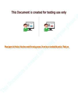 QA Testing: Test Product