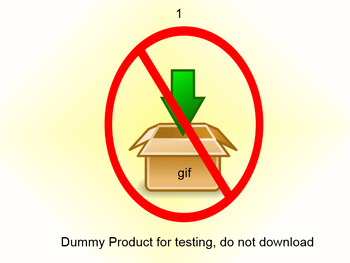 QA Testing: This product is for testing only