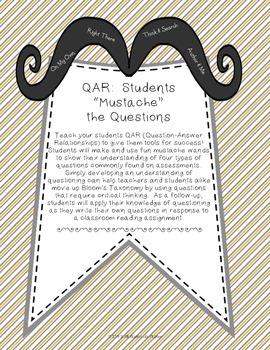 "QAR: Students ""Mustache"" the Questions"